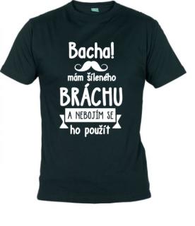 Dětské tričko s potiskem - Bacha! .... brácha empty 06f8c96c27