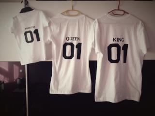 Dětské tričko s potiskem - královské d39e2f93b8