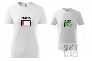Dětské rodinné tričko s potiskem - dcera 99f7835452